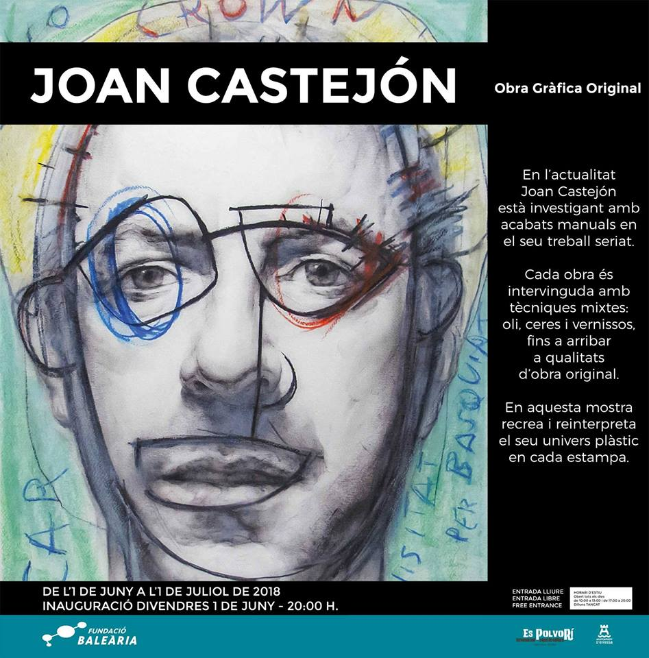 Exhibition by Joan Castelló in Es Polvorí