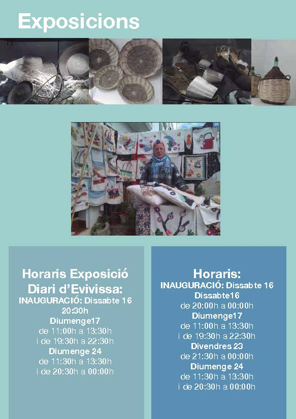 Exhibitions in Sant Joan