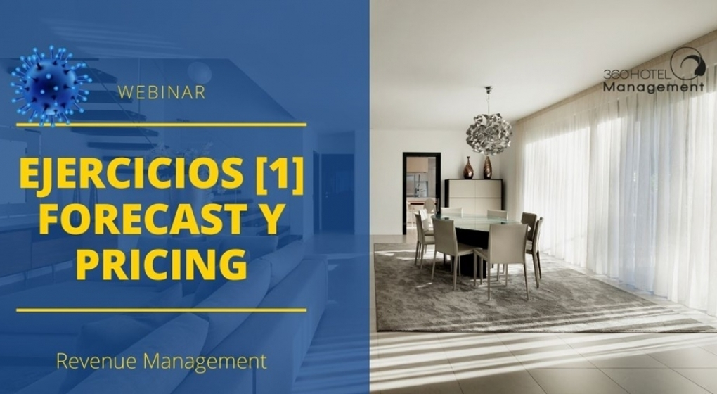 21 de abril Webinar: Webinar Ejercicios de Revenue Management 1 Forecast y Pricing
