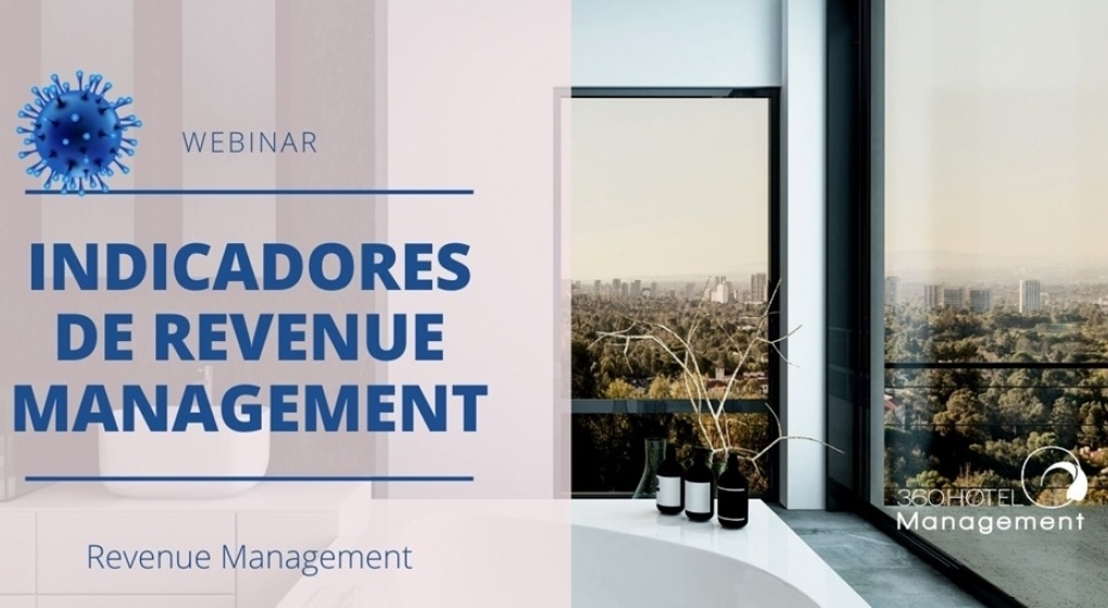 Webinar Indicadores de Revenue Management.