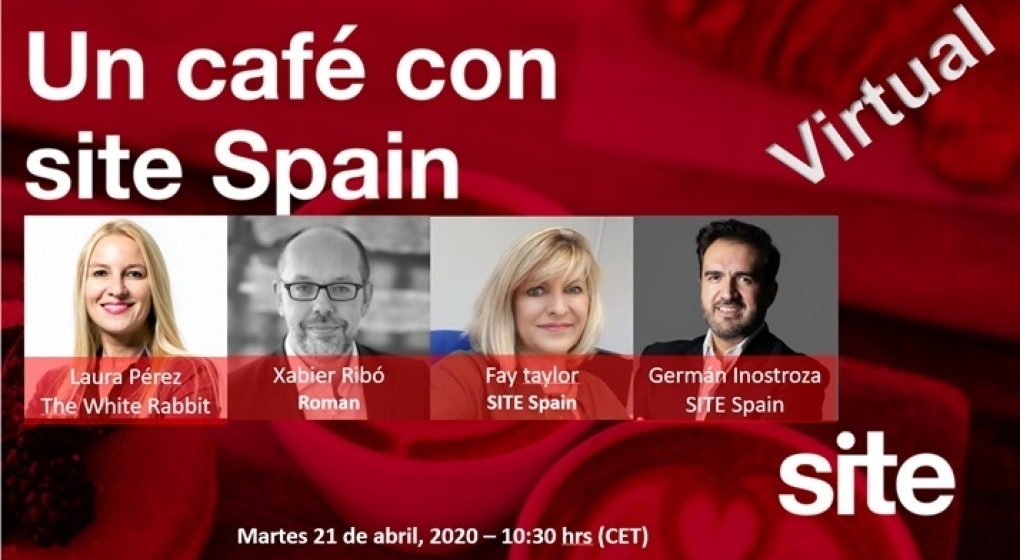 Café virtual con SITE Spain 21 de abril