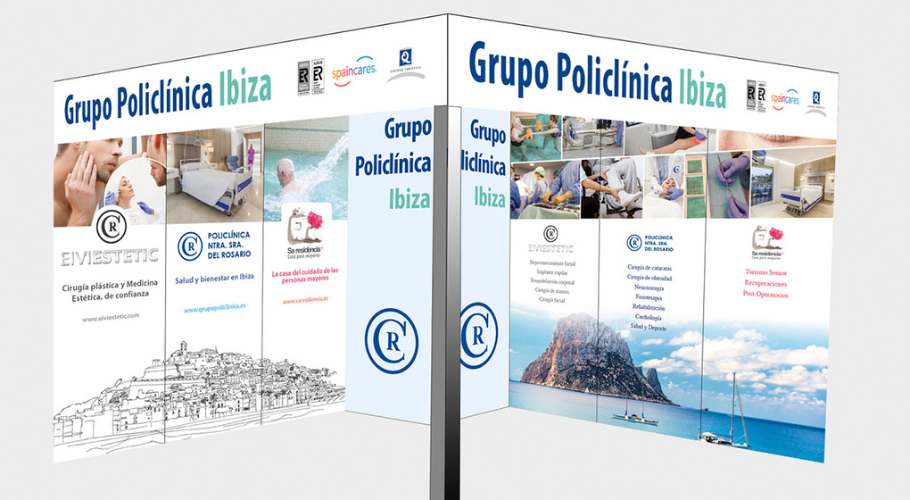 Products of Policlinica Group in Fitur