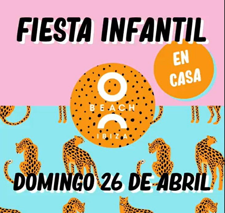 ¡Kids party en casa con O Beach Ibiza!
