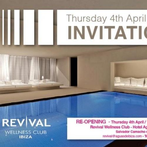 Reapertura Revival Wellness Club Spa- Hotel Aguas de Ibiza