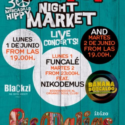 Night Market en Las Dalias