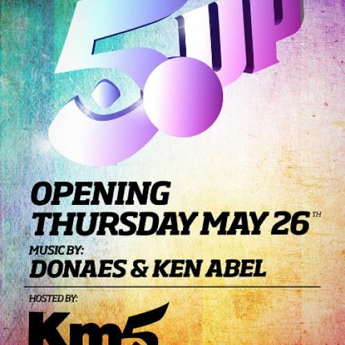 Opening party 5UP en KM5