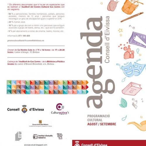 Agenda Cultural Consell 2016