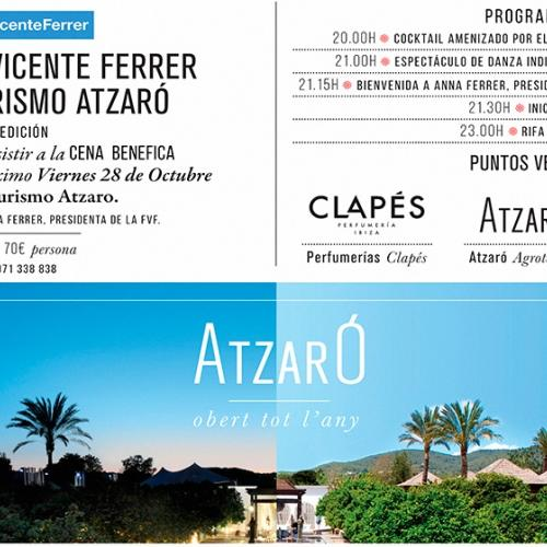 Gala dinner at Agroturismo Atzaró to benefit the Vicente Ferrer Foundation