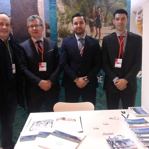 Ibiza Luxury Destination and Ibiza Convention Bureau in Fitur