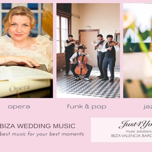 Just4you ,le pone música a vuestra boda.