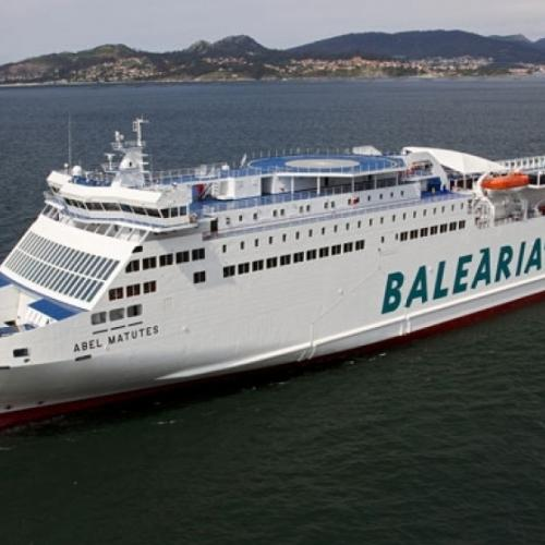 Travel with Baleària.