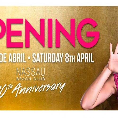 Opening 2017-10th Anniversary Nassau Beach Club.