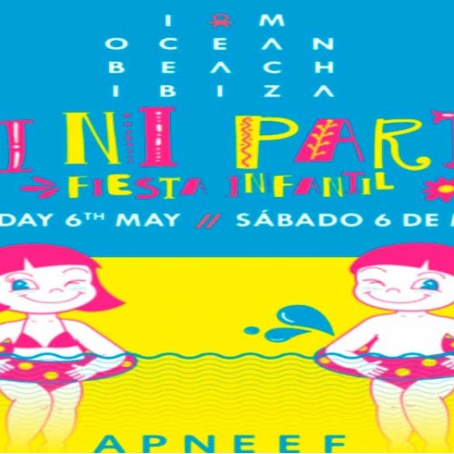 Children's party at Ocean Beach Ibiza