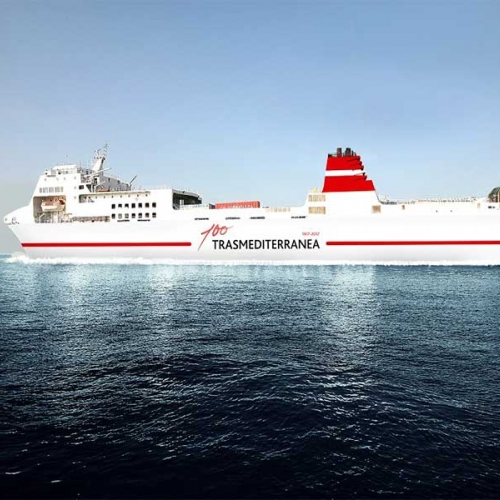 New boat of Trasmediterranea