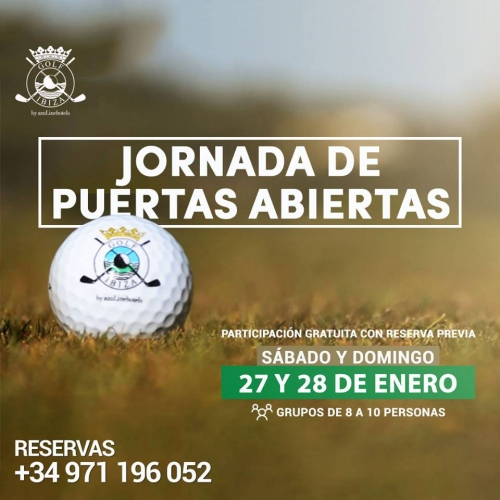 Open days at Golf Ibiza