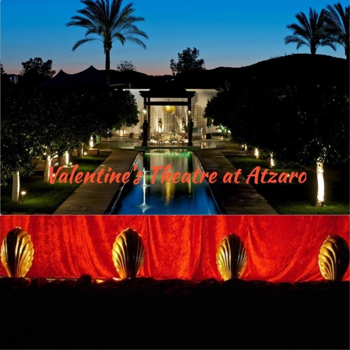 Theater for Valentine's Day in Atzaró.