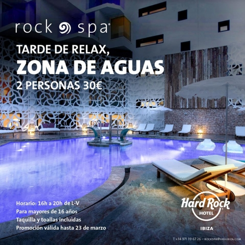 Afternoon Relax in Rock Spa