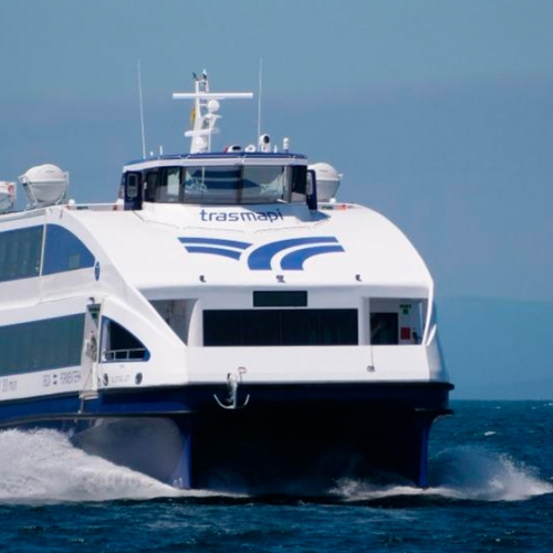 Trasmapi commissioned a new passenger catamaran