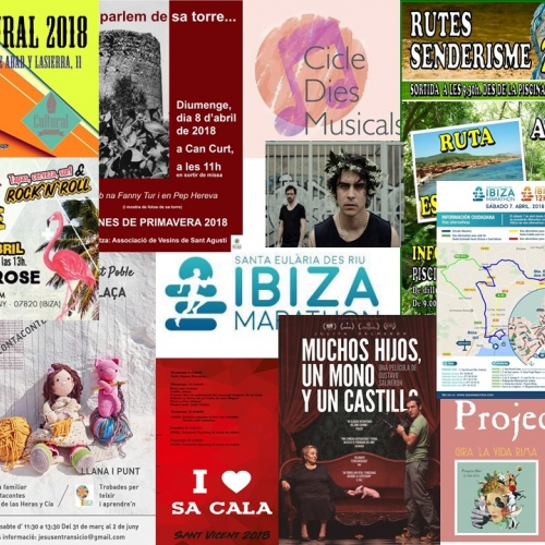 Ibiza marathon, theatre and music for this weekend!
