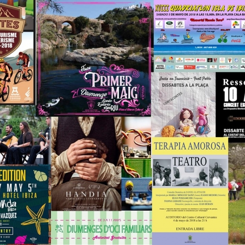 Party 1st Sunday of May, Ressonadors, Childre of the 80's and more for this weekend