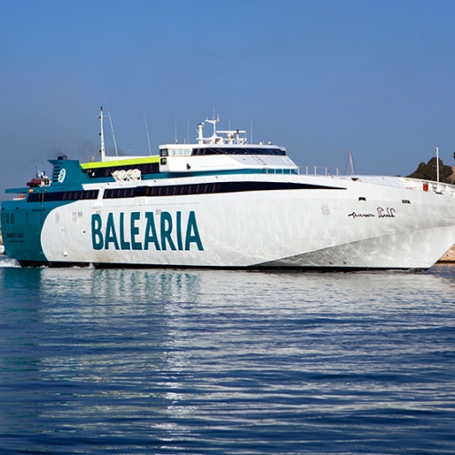 Travel with Baleria from Valencia to Ibiza