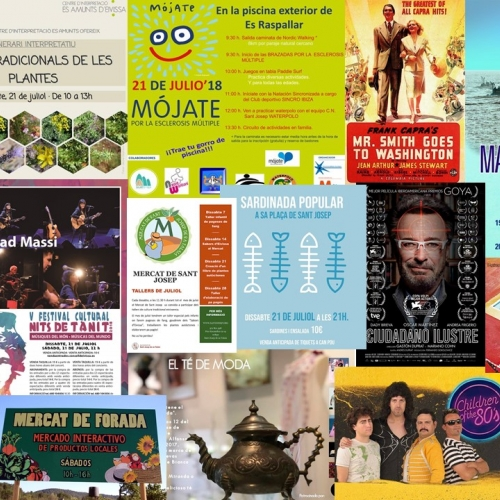 Music and cinema for enjoy this weekend in Ibiza