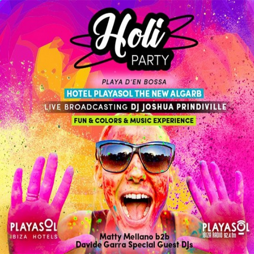 Holi Party in The New Algarb