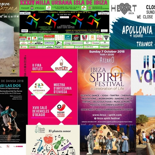 Fairs, theater and tradition for the 1st weekend of october in Ibiza
