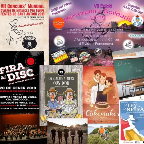 Gastronomy, music and sport to enjoy this weekend!