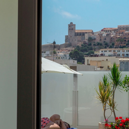 An oasis of relaxation and well-being in the heart of Ibiza Town