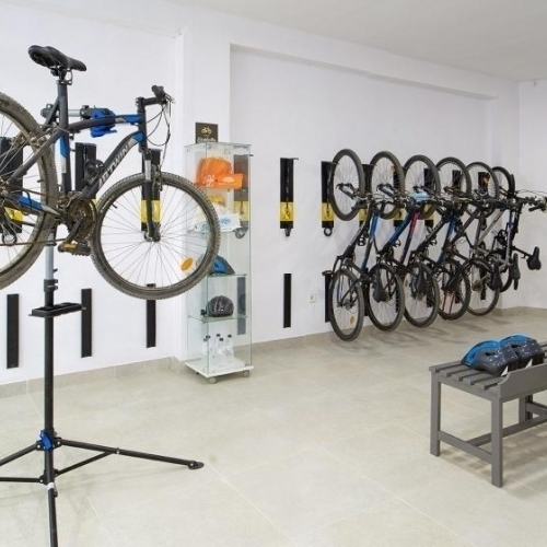 First Bikefriendly hotel in Ibiza