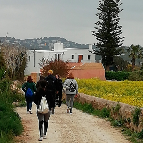 Ruta de senderismo con Ecoibiza - Secret Walks
