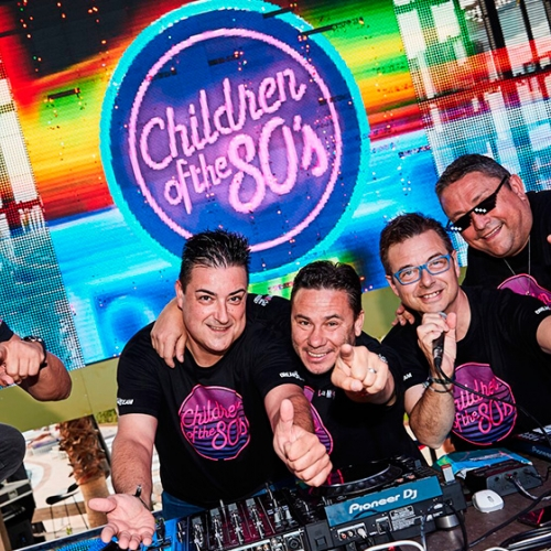 Children of the 80's regresa al Hard Rock Hotel Ibiza a partir de mayo