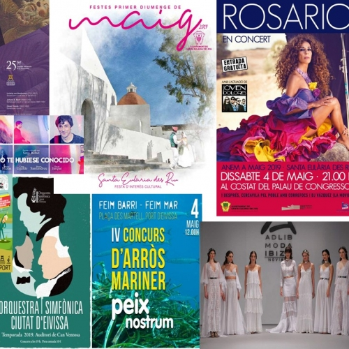 Activities program of May festivities and more for enjoy the weekend!