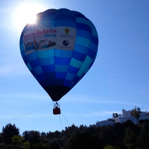 Discover Ibiza by ballooning!