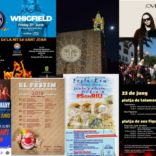 Enjoy  the weekend with differents activities as the night of Sant Joan