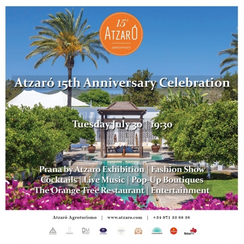 Atzaro 15th Anniversary Celebration