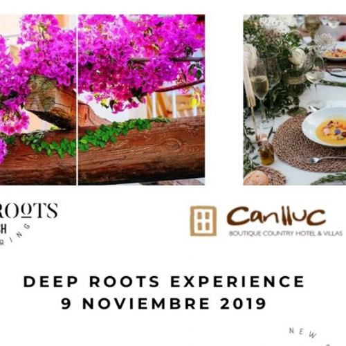 Cena Pop Up by Deep Roots en el Hotel rural Can Lluc