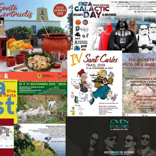 Ibiza Galactic Day, music, sport and more to enjoy the weekend